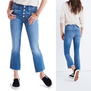 Madewell Cali Demi-Boot Jeans in Daly Wash